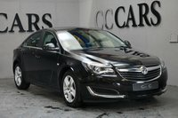 USED 2015 65 VAUXHALL INSIGNIA 1.6 DESIGN CDTI ECOFLEX S/S 5d 134 BHP Bluetooth Connectivity, Leather Multi Function Steering Wheel, Cruise Control, On-board Trip Computer,