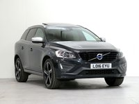 2016 VOLVO XC60 2.4 D5 R-DESIGN LUX NAV AWD 5d AUTO 217 BHP [4WD] [£4,745 OPTIONS] £22123.00