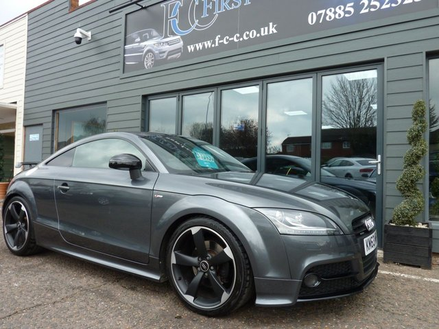 2013 63 AUDI TT 2.0 TDI QUATTRO BLACK EDITION 2d 168 BHP AMPLIFIED Edition