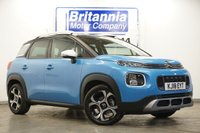 2018 CITROEN C3 AIRCROSS 1.2 PURETECH FLAIR S/S EAT6 5 DOOR AUTOMATIC 110 BHP £14990.00