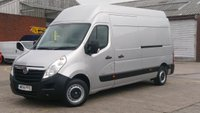 2014 VAUXHALL MOVANO 2.3 F3500 L3H3 CDTI 1d 98 BHP LWB XHI / ROOF 1 OWNER F/S/H FREE 12 MONTHS WARRANTY COVER  £6490.00