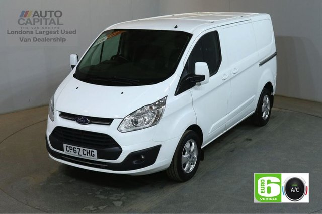 2017 67 FORD TRANSIT CUSTOM 2.0 290 LIMITED 130 BHP L1 H1 SWB EURO 6 AIR CON VAN AIR CONDITIONING EURO 6 LTD