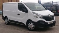 2015 RENAULT TRAFIC 1.6 SL27 BUSINESS DCI S/R P/V 1d 115 BHP 1 OWNER F/S/H FREE 12 MONTHS WARRANTY COVER  £6990.00