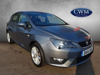 2014 SEAT IBIZA 1.6 CR TDI FR 5d 104 BHP £6500.00