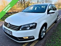 USED 2013 62 VOLKSWAGEN PASSAT 2.0 S TDI BLUEMOTION TECHNOLOGY 4d 139 BHP