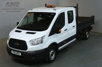 USED 2016 16 FORD TRANSIT 2.2 350 DCB 124 BHP RWD LWB 7 SEATER TIPPER REAR BED LENGTH 6 FOOT 9 INCH