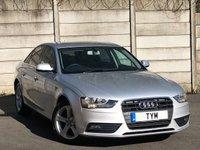 2012 AUDI A4 2.0 TDI SE 4d AUTO 141 BHP £7495.00