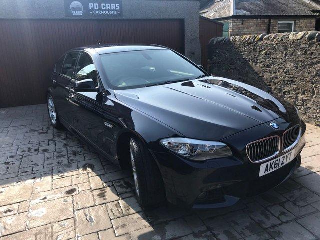 2011 61 BMW 5 SERIES 2.0 520D M SPORT 4d 181 BHP