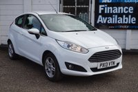 USED 2013 13 FORD FIESTA 1.2 ZETEC 3d 81 BHP £30 TAX-BLUETOOTH-USB 4 Service Stamps, Alloys, Voice Active Bluetooth, USB