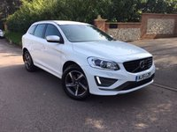 2015 VOLVO XC60 2.0 D4 R-DESIGN LUX NAV 5d 178 BHP PLEASE CALL TO VIEW £14250.00