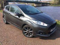USED 2017 66 FORD FIESTA 1.0 ST-LINE 3d 100 BHP **12 MONTHS WARRANTY **