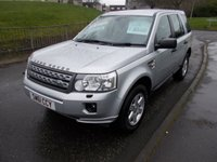 USED 2011 61 LAND ROVER FREELANDER 2.2 TD4 GS 5d 150 BHP ++LOW MILEAGE DIESEL++
