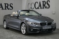 USED 2016 16 BMW 4 SERIES 3.0 430D M SPORT 2d AUTO 255 BHP Full Ivory Leather Heated Electric Memory Seats, Satellite Navigation + Bluetooth Connectivity + DAB Radio, Front and Rear Park Distance Control + Reverse Camera, 18 Inch Double Spoke Alloy Wheels, Leather M Sport Multi Function Steering Wheel, Cruise Control, Digital Dual Zone Climate Control, Heated Electric Mirrors, On-Board Computer