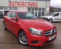 USED 2014 14 MERCEDES-BENZ A-CLASS 1.6 A180 BLUEEFFICIENCY SPORT 5d 122 BHP