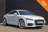 USED 2015 15 AUDI TT 2.0 TFSI QUATTRO S LINE 2d 227 BHP MASSIVE SPECIFICATION - VIRTUAL COCKPIT - BANG & OLUFSEN