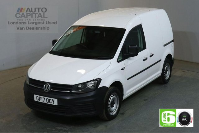 2017 17 VOLKSWAGEN CADDY 2.0 C20 TDI STARTLINE 102 BHP SWB AIR CON EURO 6 AIR CONDITIONING EURO 6