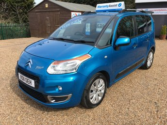 2011 CITROEN C3 PICASSO 1.6 PICASSO EXCLUSIVE HDI 5d 90 BHP £SOLD