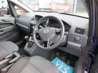 USED 2012 62 VAUXHALL ZAFIRA 1.6 EXCLUSIV 5d 113 BHP 1 OWNER GOOD VALUE 7 SEATER