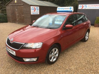 2014 SKODA RAPID 1.6 SPACEBACK SE TDI CR 5d 104 BHP £6490.00