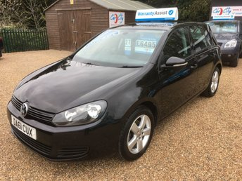 2011 VOLKSWAGEN GOLF 1.6 MATCH TDI BLUEMOTION TECHNOLOGY 5d 103 BHP £6490.00