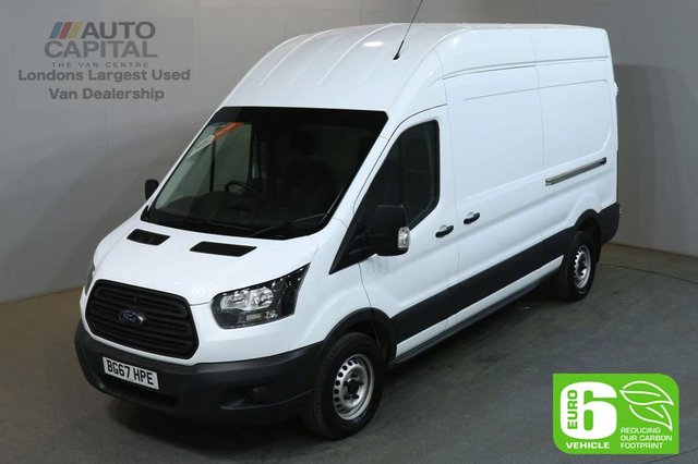 2017 67 FORD TRANSIT 2.0 350 L3 H3 129 BHP LWB H/ROOF FWD EURO 6 VAN EURO 6 UNDER DEALER WARRANTY