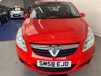 USED 2009 58 VAUXHALL CORSA 1.4 CLUB 3d 90 BHP