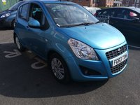 USED 2013 63 SUZUKI SPLASH 1.2 SZ4 5d 94 BHP only 9599 miles from new and cheap to run. low co2 emissions (118g/km) and £30 road tax. excellent specification including fuel economy, air conditioning, alloy wheels and privacy glass. All our vehicles meet large city emission standards!