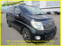 USED 2007 07 NISSAN ELGRAND Highway Star 2.5 Automatic,8 Seats, Power Door 74K+2.5+FRONT AND REAR CAMERA