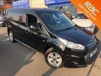 2018 FORD TRANSIT CONNECT 1.5 240 LIMITED L2 H1 (LWB) P/V 118 BHP EURO 6 £SOLD