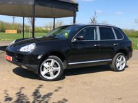 USED 2006 06 PORSCHE CAYENNE 4.5 S AUTO 340 BHP 5DR ESTATE (HUGE SPEC) BOSE+SUNROOF+XENONS+SATNAV