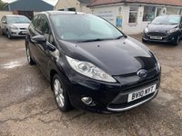 USED 2010 10 FORD FIESTA 1.2 ZETEC 3d 81 BHP EXCELLENT LOW MILEAGE  / VOICE COMM / USB / BLUETOOTH