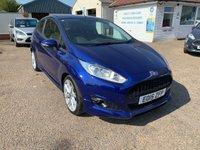 2015 FORD FIESTA 1.0 ZETEC S 3d 124 BHP £8650.00