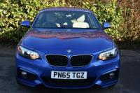 USED 2015 65 BMW 2 SERIES 2.0 218d M Sport Coupe 2dr Diesel Manual (s/s) (116 g/km, 150 bhp) OYSTER LEATHER FBMWSH M SPORT