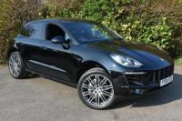 "USED 2014 64 PORSCHE MACAN 3.0 TD V6 S SUV 5dr Diesel PDK AWD (162 g/km, 258 bhp ) 21in TURBO 11 ALLOYS 21""S SATNAV STUNNING MACAN"
