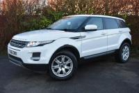 USED 2012 62 LAND ROVER RANGE ROVER EVOQUE 2.2 ED4 Pure Tech SUV 5dr Diesel Manual 2WD (133 g/km, 150 bhp) SATNAV PANORAMIC ROOF FLRSH