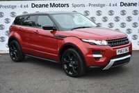 USED 2014 63 LAND ROVER RANGE ROVER EVOQUE 2.2 SD4 DYNAMIC LUX 5d 190 BHP BLACK PACK
