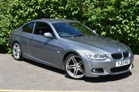"""USED 2013 13 BMW 3 SERIES 2.0 320d M Sport Coupe 2dr Diesel Manual (125 g/km, 184 bhp) 19""""S LEATHER FBMWSH STUNNING"""