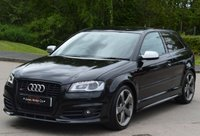 USED 2012 12 AUDI A3 2.0 S3 TFSI QUATTRO S LINE BLACK EDITION 3d 261 BHP ****SATELLITE NAVIGATION****
