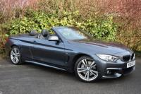 """USED 2014 64 BMW 4 SERIES 3.0 435i M Sport Convertible 2dr Petrol Automatic (180 g/km, 306 bhp) PRONAV 19""""s AIR-SCARF 1 OWNER"""