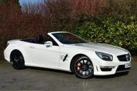 USED 2014 14 MERCEDES-BENZ SL 5.5 SL63 AMG Convertible 2dr Petrol Automatic (231 g/km, 530 bhp) AMAZING SL63 AMG PERFECT COMBO