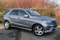 USED 2015 15 MERCEDES-BENZ M-CLASS 2.1 ML250 CDI BlueTEC AMG Line SUV 5dr Diesel 7G-Tronic Plus 4MATIC (163 g/km, 201 bhp) GREAT VALUE AMG LINE FMSH