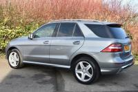 USED 2015 15 MERCEDES-BENZ M CLASS 2.1 ML250 CDI BlueTEC AMG Line SUV 5dr Diesel 7G-Tronic Plus 4MATIC (163 g/km, 201 bhp) GREAT VALUE AMG LINE FMSH