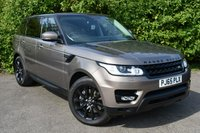 USED 2015 65 LAND ROVER RANGE ROVER SPORT 3.0 SD V6 HSE SUV 5dr Diesel Automatic 4X4 (s/s) (185 g/km, 306 bhp) BLACK PACK 1 OWNER FLRSH MINT