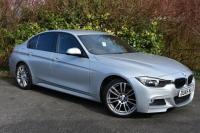 """USED 2016 65 BMW 3 SERIES 2.0 320d M Sport Saloon 4dr Diesel Manual (s/s) (120 g/km, 184 bhp) 1 OWNER FBMWSH 19""""S SAT NAV"""