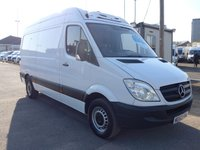 USED 2013 63 MERCEDES-BENZ SPRINTER 313 CDI MWB CHILLER, 129 BHP [EURO 5], LOW MILES