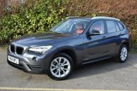 USED 2014 14 BMW X1 2.0 18d Sport SUV 5dr Diesel Automatic xDrive (143 g/km, 141 bhp) CORAL RED LEATHER FBMWSH