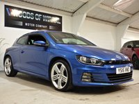 USED 2015 15 VOLKSWAGEN SCIROCCO 2.0 R LINE TDI BLUEMOTION TECHNOLOGY DSG 2d AUTO 182 BHP