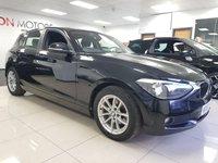 USED 2013 63 BMW 1 SERIES 1.6 116D EFFICIENTDYNAMICS 5d+SERVICE HISTORY+ZERO ROAD TAX+
