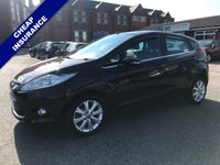 USED 2009 09 FORD FIESTA 1.4 ZETEC 16V 5d 96 BHP Great First Car