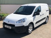 USED 2013 PEUGEOT PARTNER 1.6 HDI SE L1 850 1d 89 BHP 3 SEATS, E/WINDOWS, MINT CLEAN, PLY LINED, REALLY ECONOMICAL, MOT TO MARCH 2020